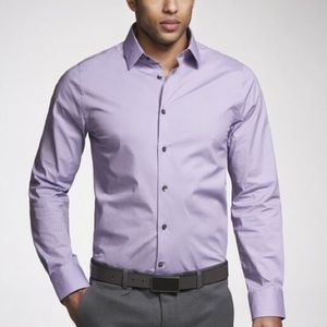 Express performance extra slim shirt size medium